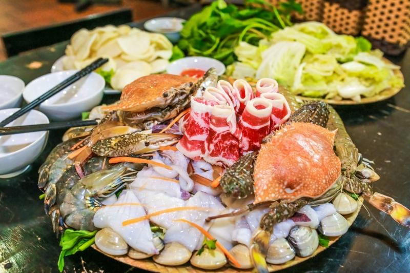 Những đồ hải sản tươi ngon