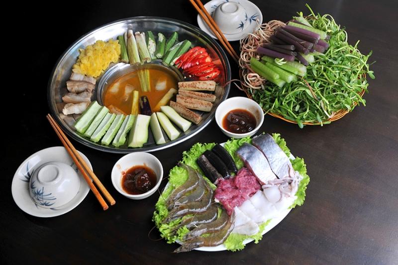 Món lẩu đặc biệt của khu vực Trung Nam Bộ