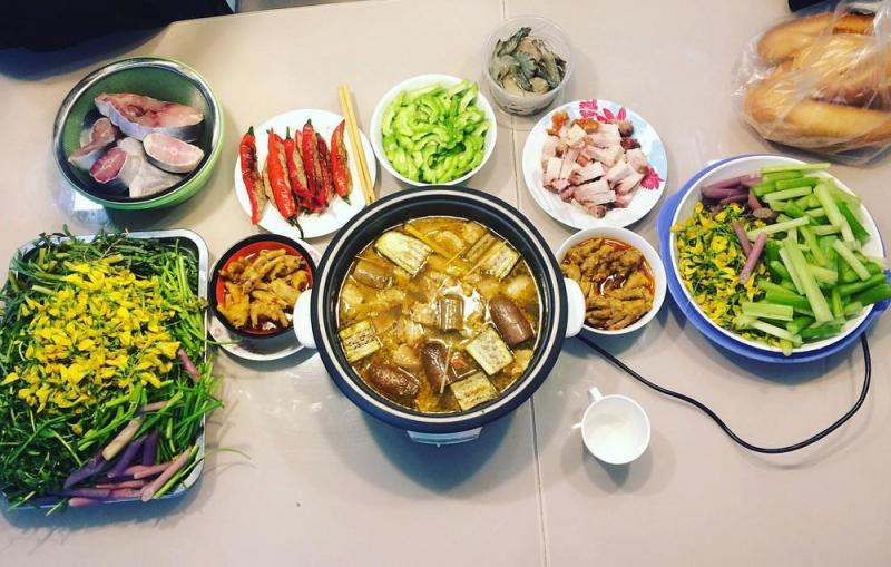 Lẩu mắm U Minh - Cà Mau