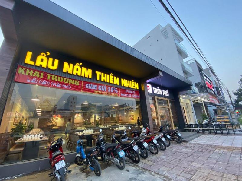 Nhà hàng lẩu nấm Trần Phố
