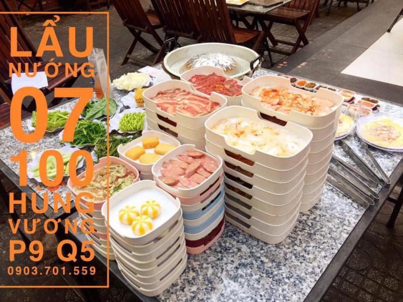 Nhà hàng Lẩu Nướng Thái Lan Số 7
