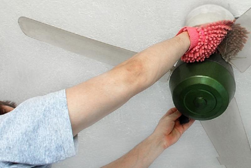 Lau sạch quạt để chúng hoạt động một cách hiệu quả nhất