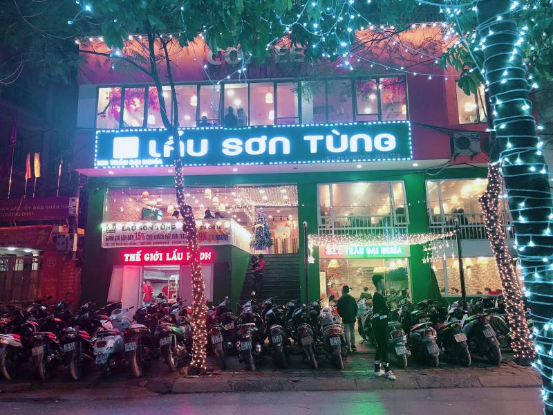Nhà hàng lẩu Sơn Tùng