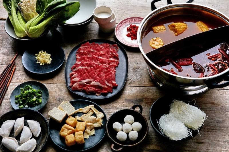 Lẩu thịt bò Hàn Quốc