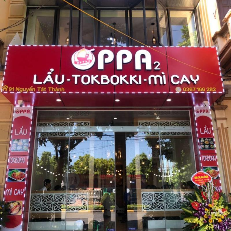 Lẩu- Tokbokki - Mì cay OPPA