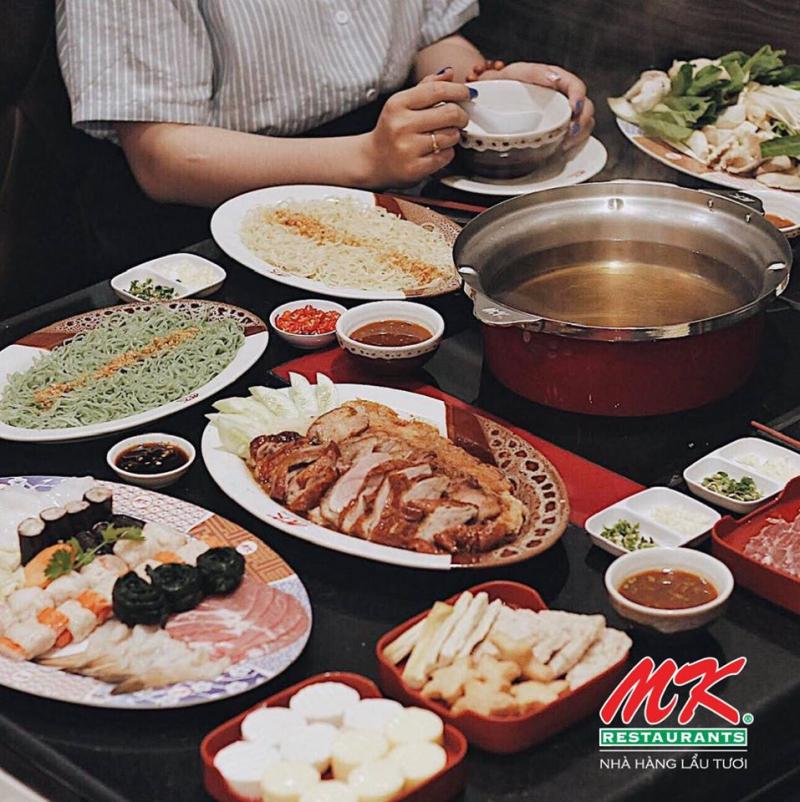 Lẩu tươi MK đảm bảo mang đến hương vị thơm ngon cho thực khách