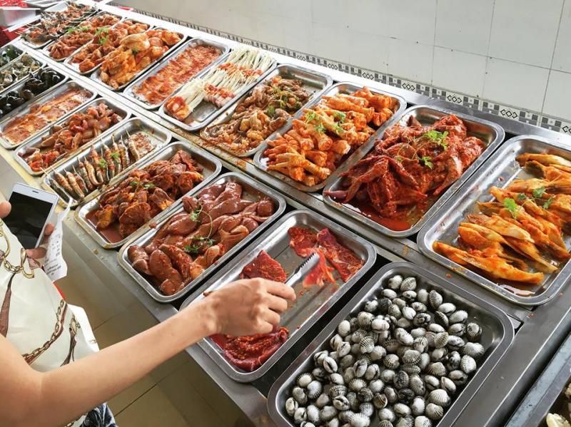 BAMBO - buffet Lẩu Nướng thả ga 99K