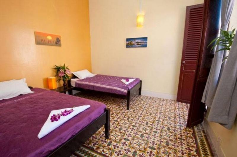 Phòng nghỉ ở đây khá đơn giản, nhưng vì thế mà có giá rất rẻ.