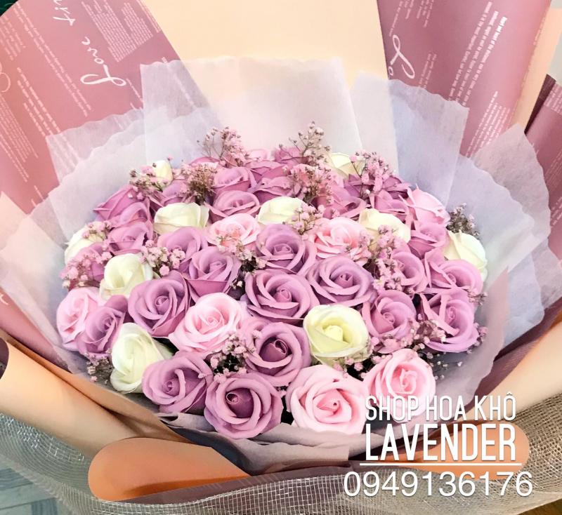Quà tặng hoa hồng tại Lavender Shop