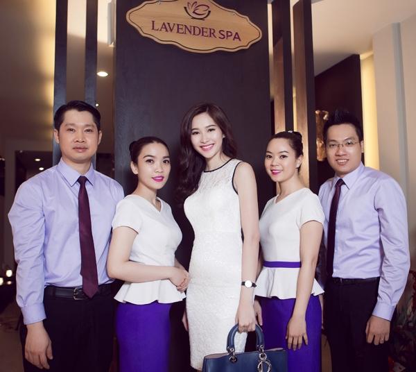 Hoa hậu Đặng Thu Thảo cũng là một trong những khách hàng thân thiết tại đây