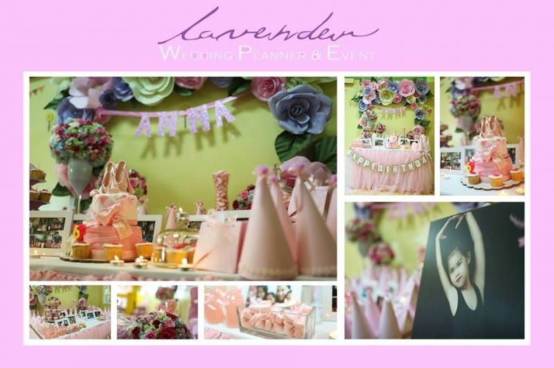 Lavender Wedding & Event là đơn vị chuyên tổ chức tiệc sinh nhật, tiệc thôi nôi cho bé tại nhà.