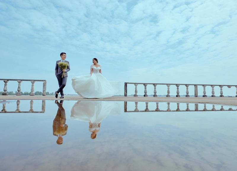 Lavender Wedding House