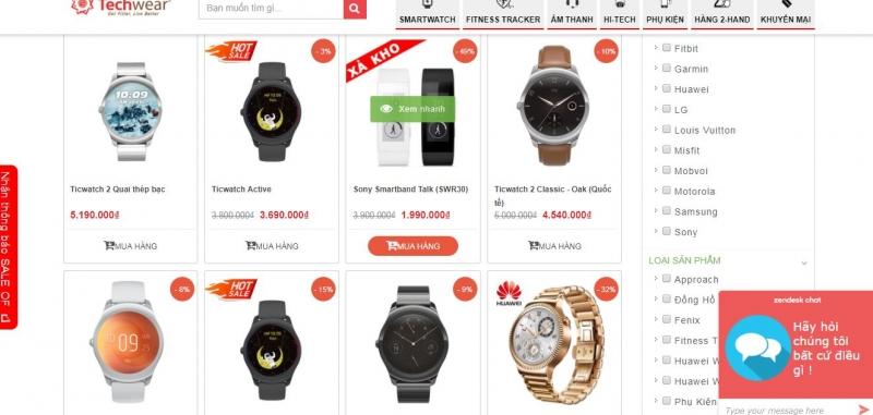Website Techwear.vn