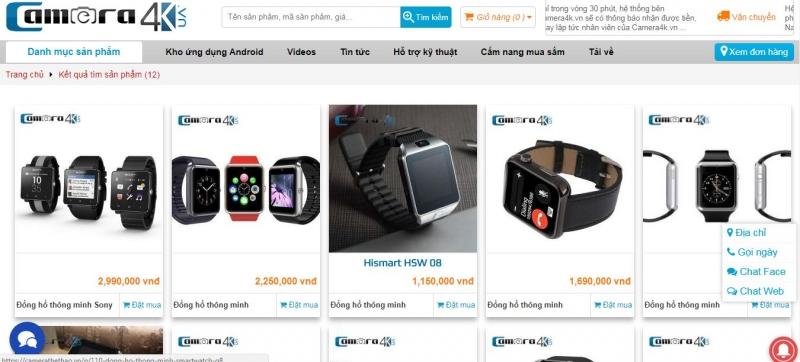 Website Camerathethao.vn