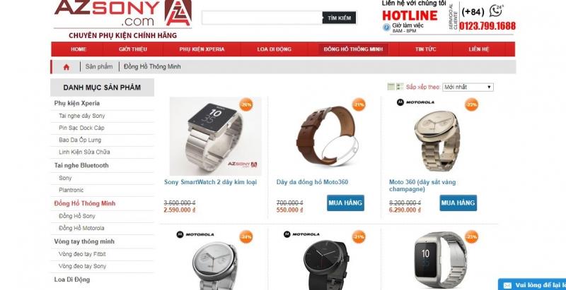 Website Azsony.com