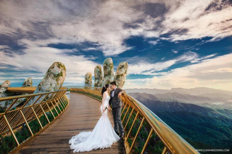 Shoot hình độc lạ của Lê Anh wedding