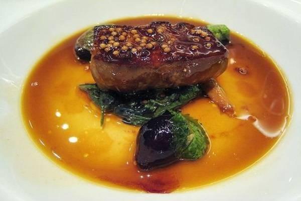 Gan ngỗng là một trong những món ăn đặc trưng của Pháp