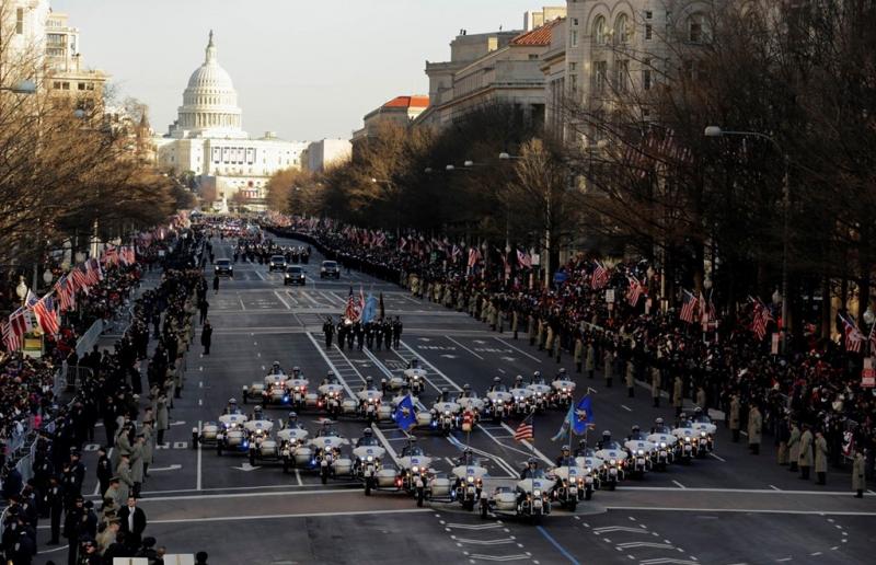 Đoàn diễu hành trong lễ nhậm chức của ông Obama ngày 20/1/2013