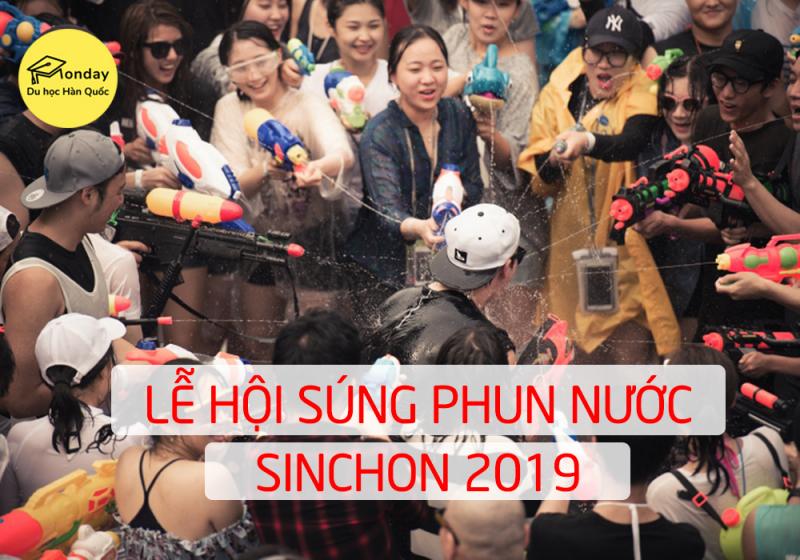 Lễ hội bắn súng nước ở Hàn Quốc Sinchon