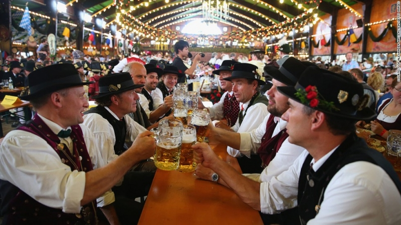 Lễ hội bia Oktoberfest ở New York (Hoa Kỳ)