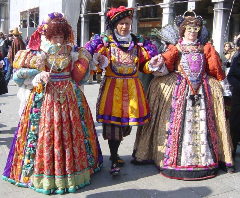 Lễ hội Carnival ở Venice, Ý