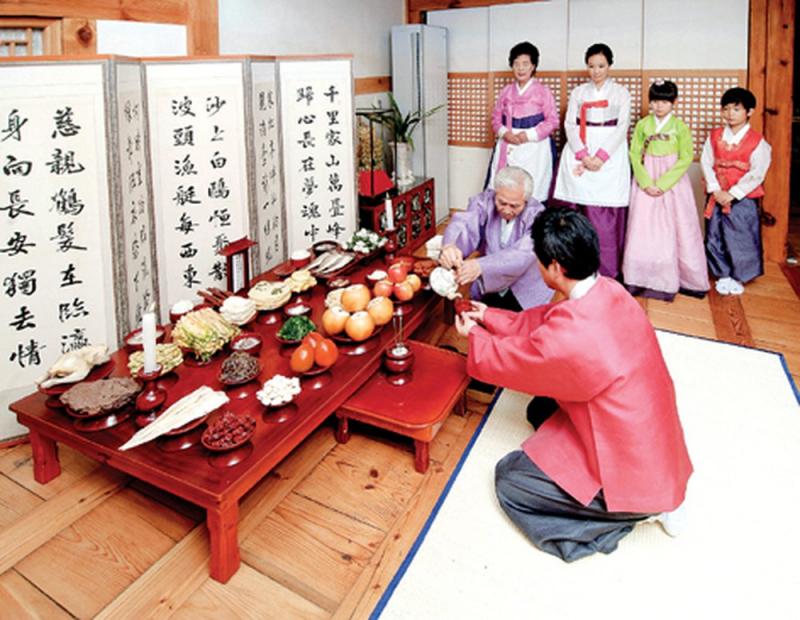 Lễ hội Chuseok ở Hàn Quốc