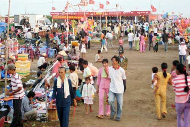 Lễ hội cúng Phước Biển thu hút hàng ngàn người đến dự.