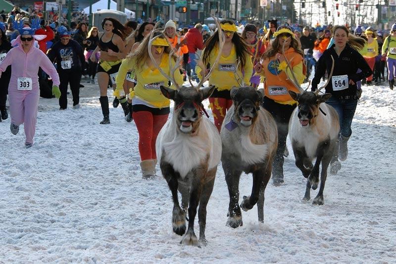 Lễ hội Fur Rendezvous ở Alaska, Mỹ