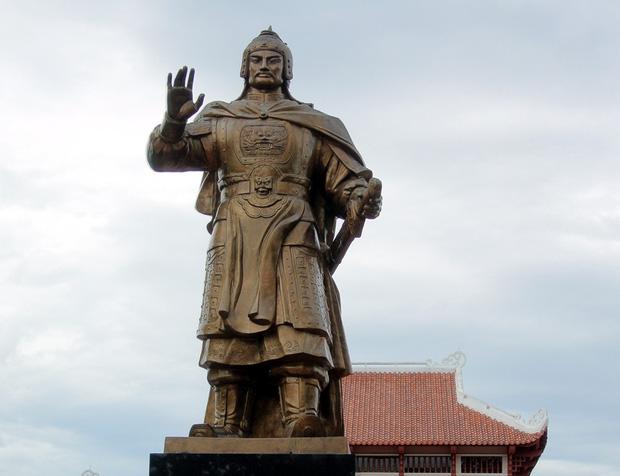 vua Quang Trung- vị tướng tài ba của dân tộc.