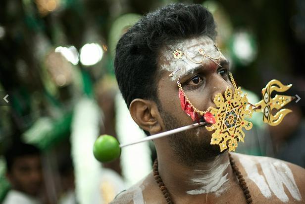 Thaipusam là một lễ hội Hindu mang tính tượng trưng rất cao