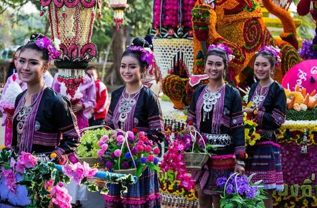 Lễ hội hoa ở Chiang Mai, Thái Lan