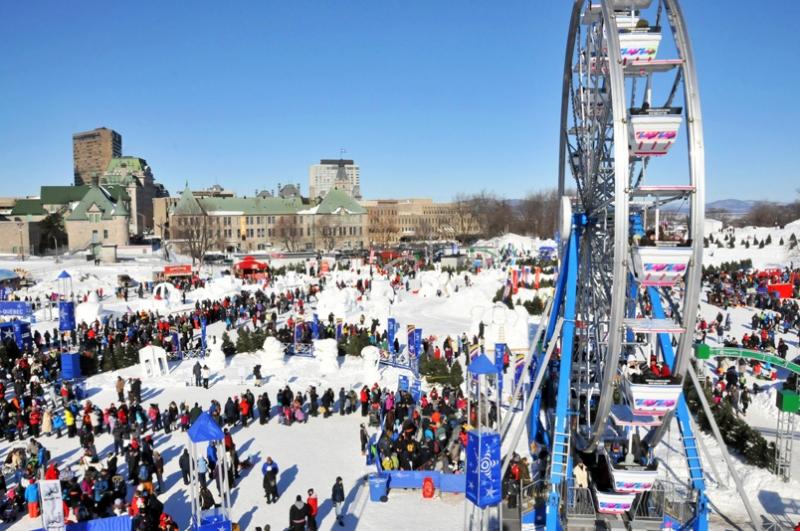 Lễ hội mùa đông ở Quebec – Canada