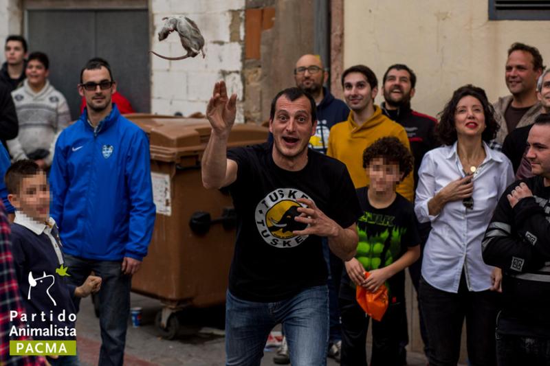 Lễ hội ném chuột chết tại Tây Ban Nha
