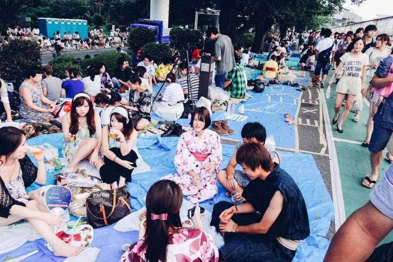 Lễ Hội Pháo Hoa Sông Sumida