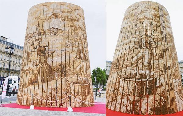 Một công trình đặc biệt trưng bày tại lễ hội