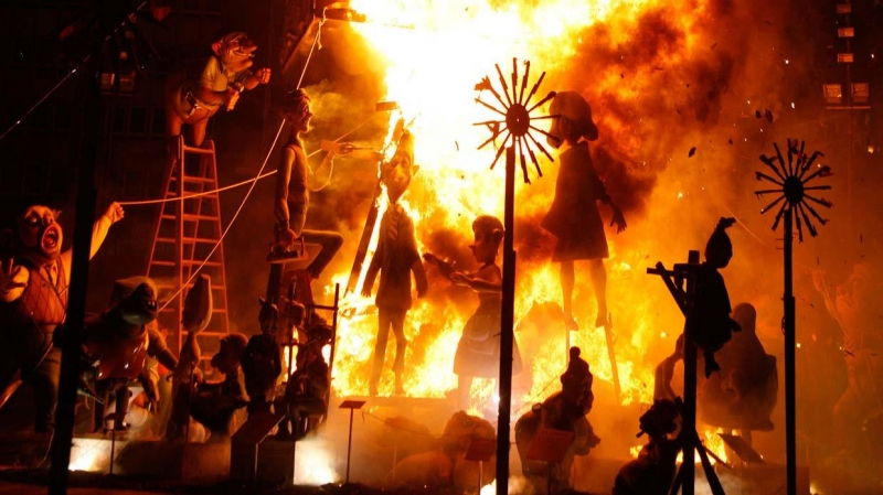 Lễ hội Las Fallas, Tây Ban Nha