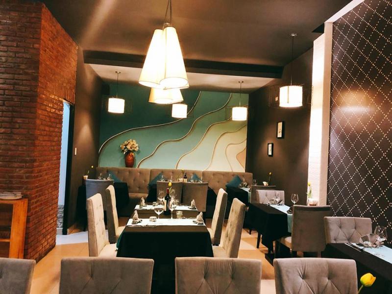 Một góc không gian lịch sự tại nhà hàng
