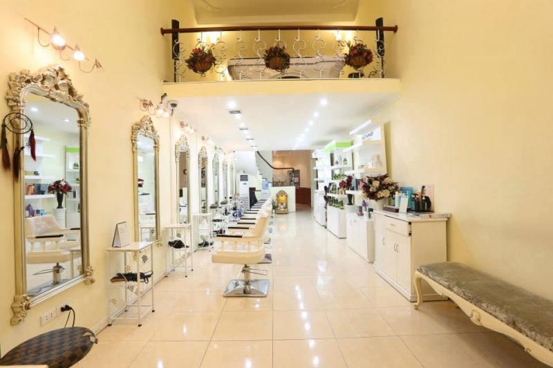 Không gian sạch sẽ, sang trọng tại Le Soleil Hair