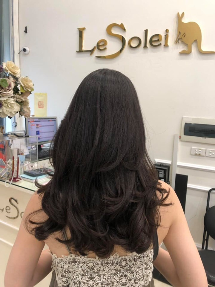 Salon có thể làm tất cả các kiểu tóc mà bạn yêu cầu