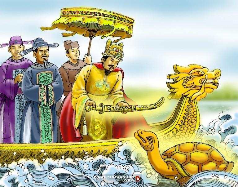 Truyền thuyết Lê Thái Tổ trả kiếm Rùa Vàng