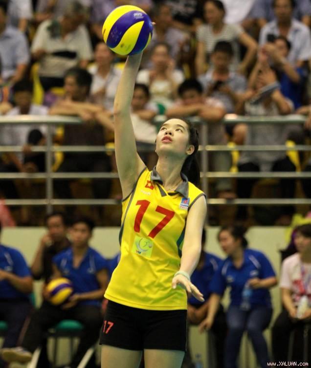 Top 9 nữ vận động viên bóng chuyền xuất sắc nhất Việt Nam hiện nay 2