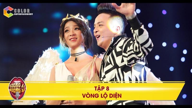 Hình ảnh Cao Thái Sơn cùng thí sinh trên sân khấu