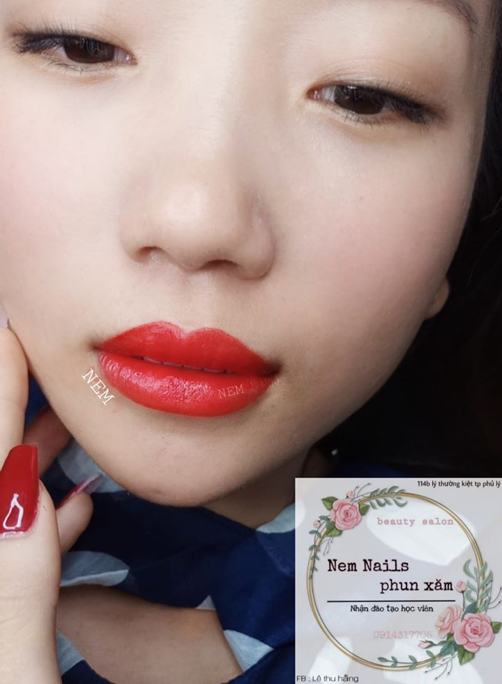 Lê Thu Hằng - Nem Nails Phun xăm thẩm mỹ