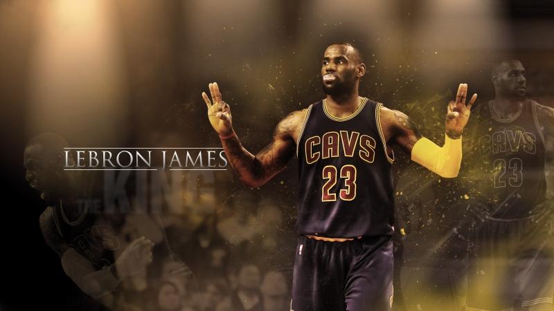 LeBron James là chỗ dựa tinh thần cho các CĐV Cleveland Cavaliers