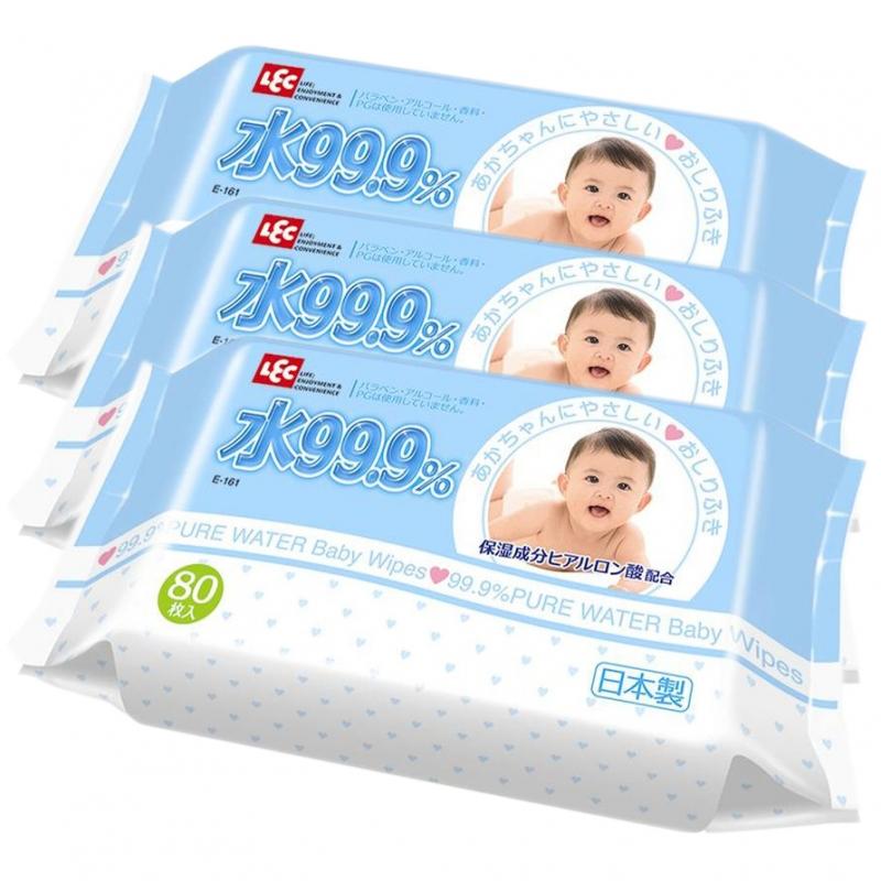 Trực thuộc công ty mẹ đình đám LEC, sản phẩm khăn giấy ướt nước tinh khiết 99,9% E165 là sản phẩm cần thiết cho quá trình vệ sinh cho bé mỗi ngày.