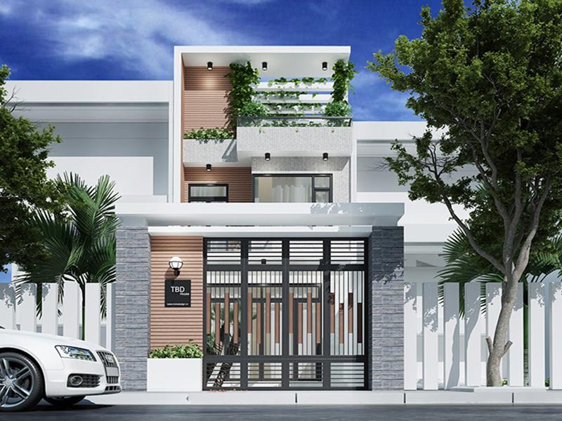 Nhà lệch tầng thường được ưu tiên thiết kế những căn nhà trên phố