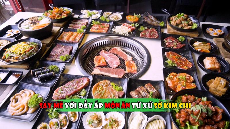 Đồ nướng tại LEE BBQ - Ẩm Thực Hàn Quốc