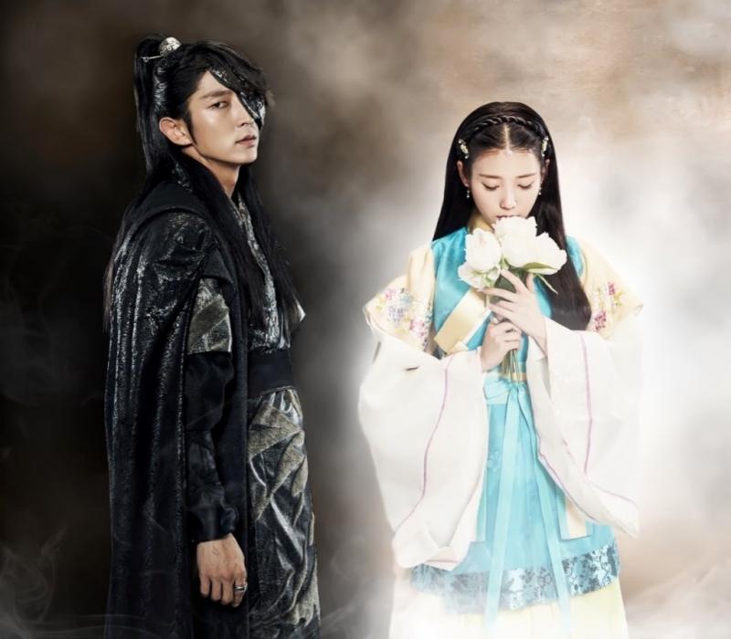 Tạo hình của Lee Jun Ki và IU trong phim Người tình ánh trăng