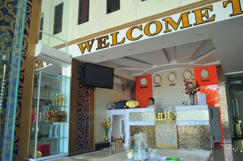 Khách sạn Lee Park nằm ngay quận Sơn Trà, gần biển Mỹ Khê