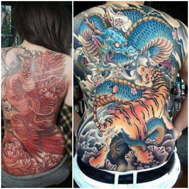 Hình xăm tại Legend Tattoo